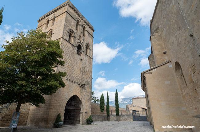 Torre Abacial en Laguardia, capital de Rioja Alavesa (País Vasco)