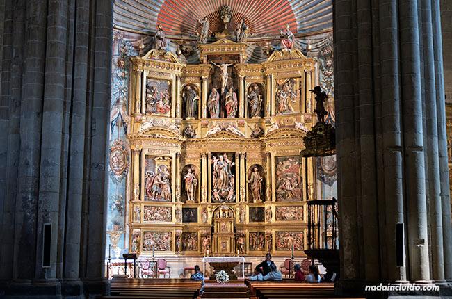Altar de la Iglesia de Santa María en Laguardia (Rioja Alavesa, País Vasco)