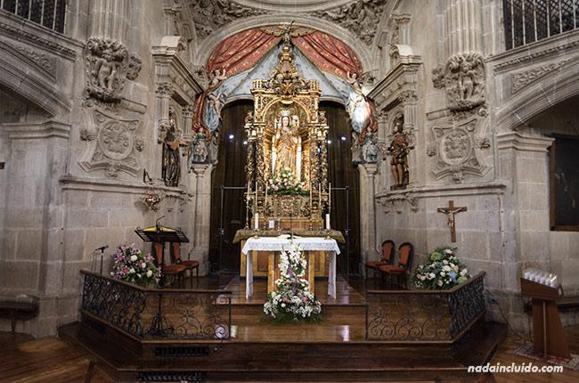 Altar de la Iglesia de San Juan en Laguardia (País Vasco, España)
