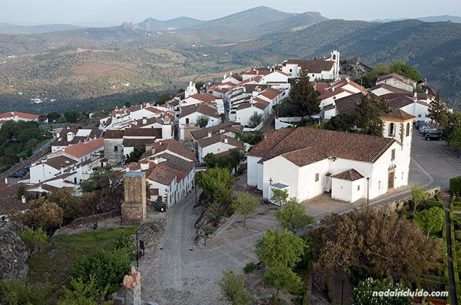 Vistas de Santa María de Marvao desde el castillo (Alentejo, Portugal)