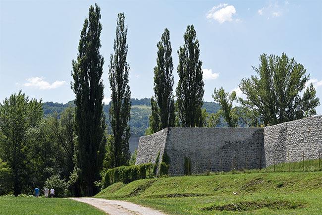 Murallas en Banja Luka (Bosnia)