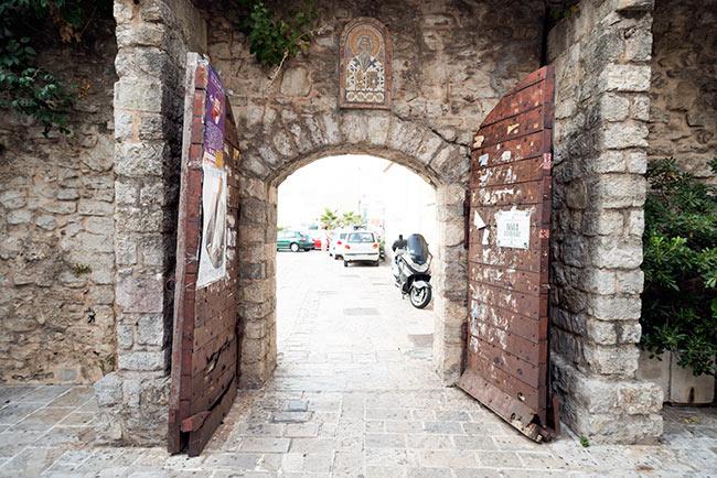 Entrada al Stari Grad de Budva (Montenegro)