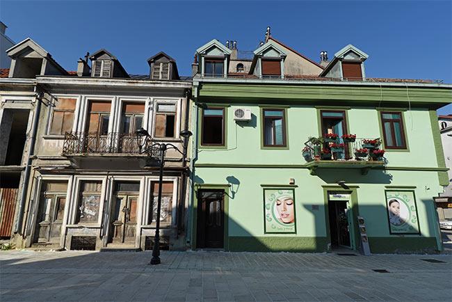 Centro urbano de Cetinje (Montenegro)