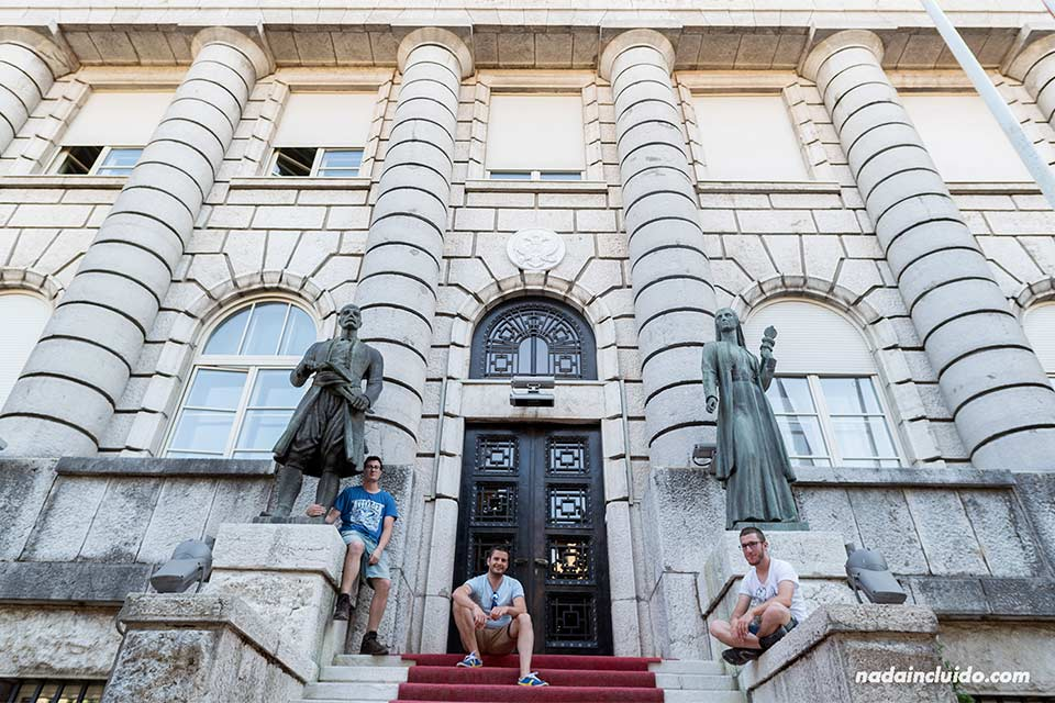 Ministerio de cultura de Cetinje (Montenegro)