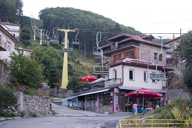 Teleférico en Krusevo (Macedonia)