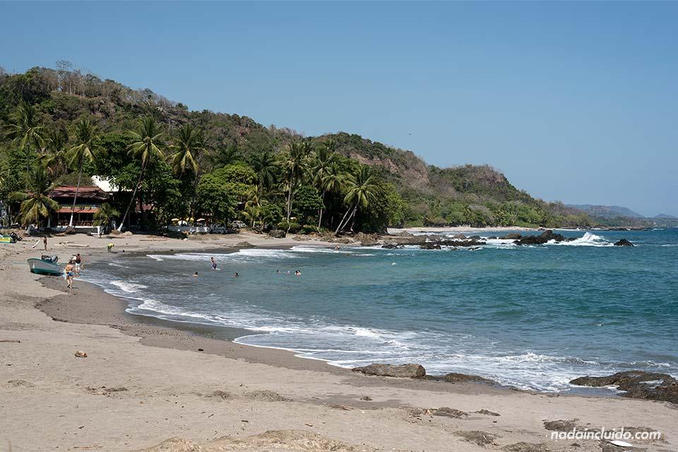 Playa junto a la localidad de Montezuma, en la Península de Nicoya (Costa Rica)