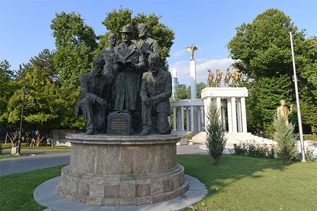 "Parque ""Fallen Héroes of Macedonia"" en Skopje"