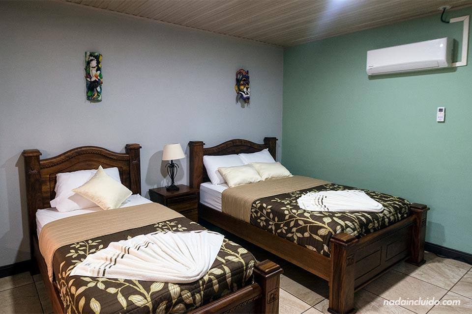 Habitación del hotel Margarita en Agujitas de Drake (Costa Rica)