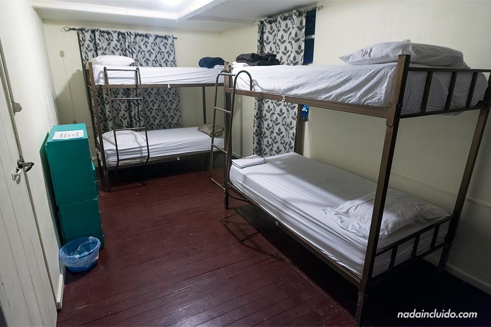 Habitación del Hostal Mamallena, en Boquete (Panamá)