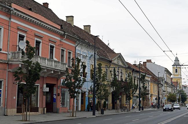 Strada Memorandumului, Cluj-Napoca (Rumanía)