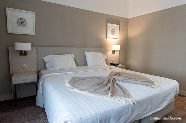 Habitación del hotel Dom Luis en Elvas (Alentejo, Portugal)