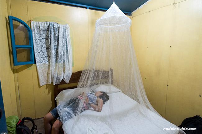 Habitación del Hotel Casa Istiam en Ometepe (Nicaragua)