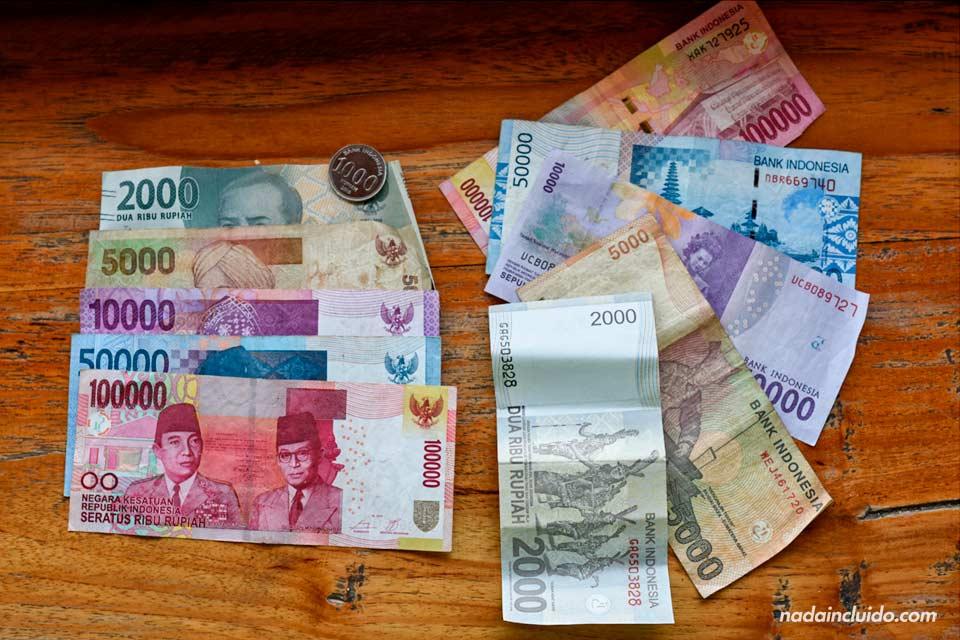 Billetes de rupia indonesia (IDR)