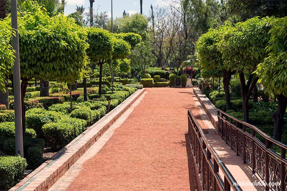 Jardines de Koutubia, Marrakech (Marruecos)