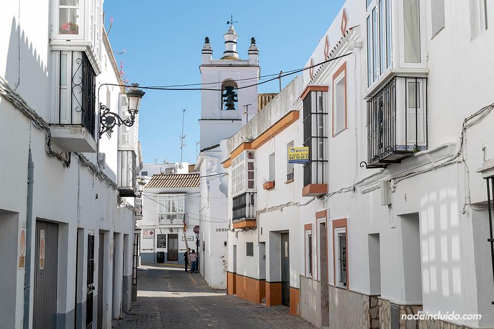 Calle Ortega en Medina Sidonia (Cádiz)