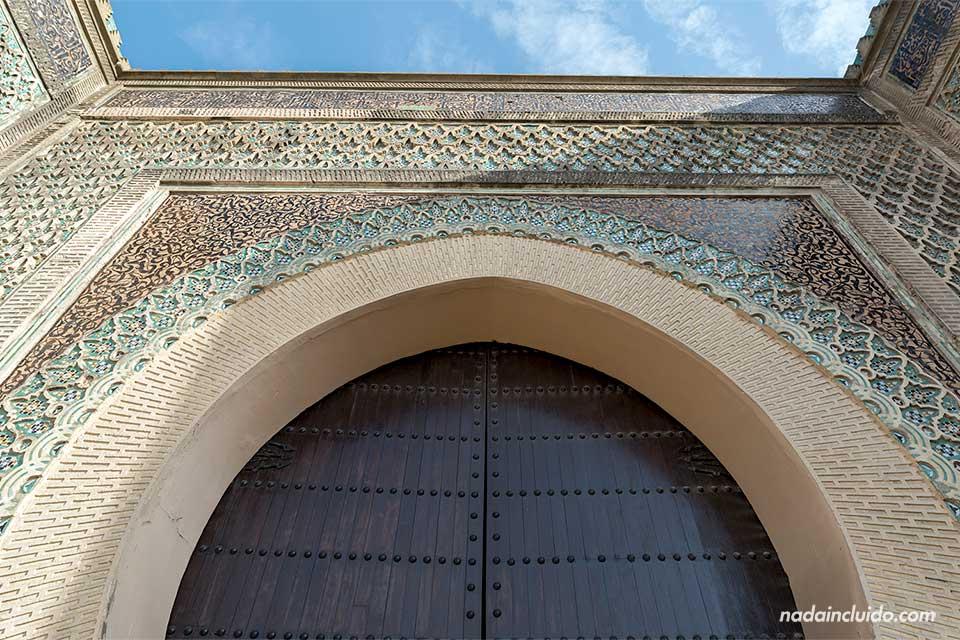 Bab Mansour, Meknes (Marruecos)
