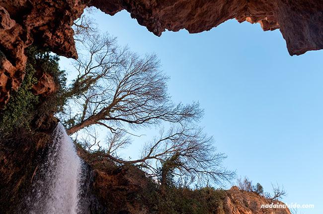 Cola de Caballo en el Parque Natural Monasterio de Piedra (Aragón, España)