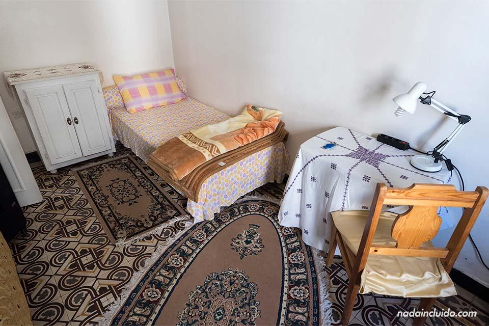 Habitación de un Homestay de Rabat (Marruecos)