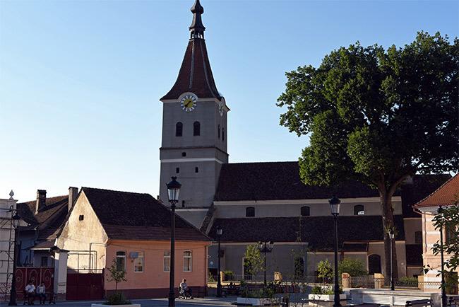 Iglesia Sfântul Matias en Rasnov (Rumanía)