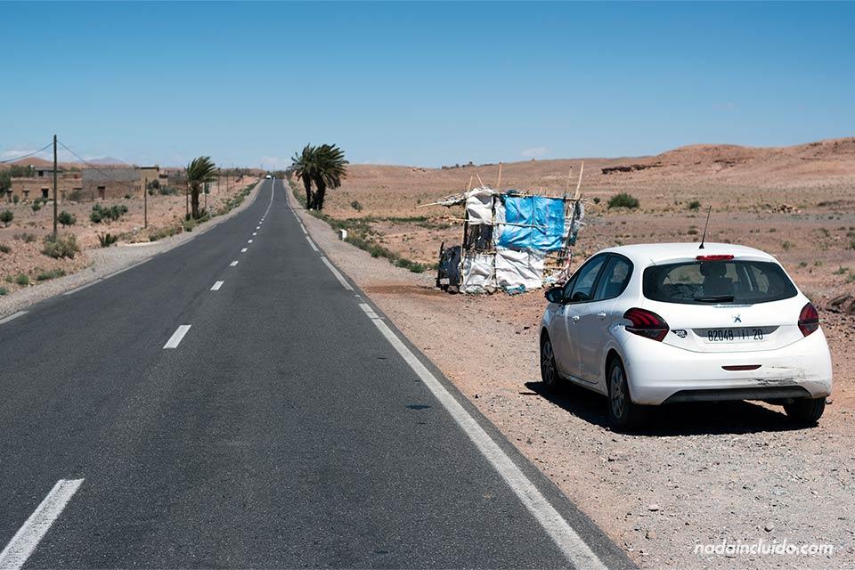 Carretera Ouarzazate - Skoura (Marruecos)