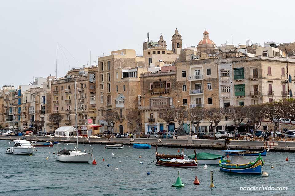 Puerto de Senglea, una de las Three Cities de Malta