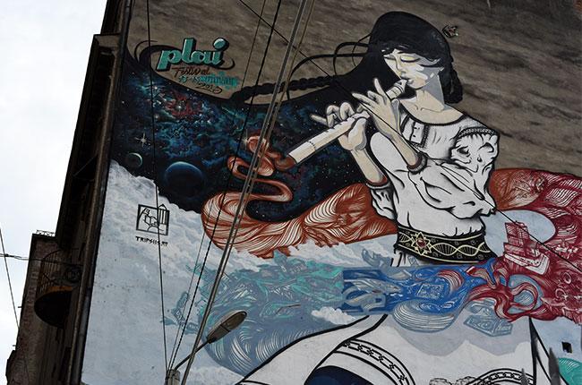 Grafiti en Timisoara (Rumanía)