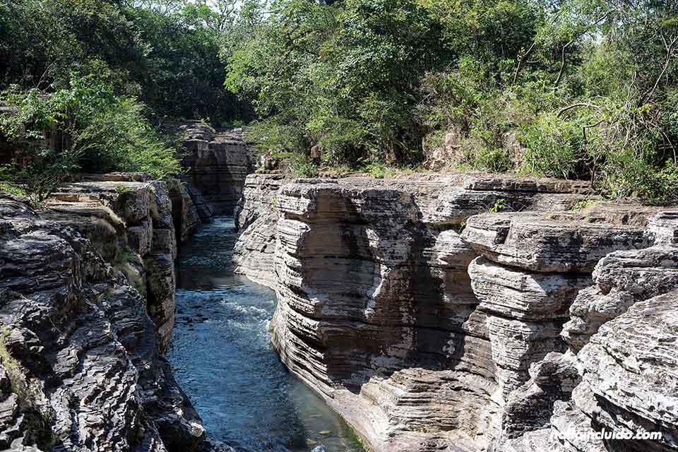 Los Cajones de Chame, en Panamá