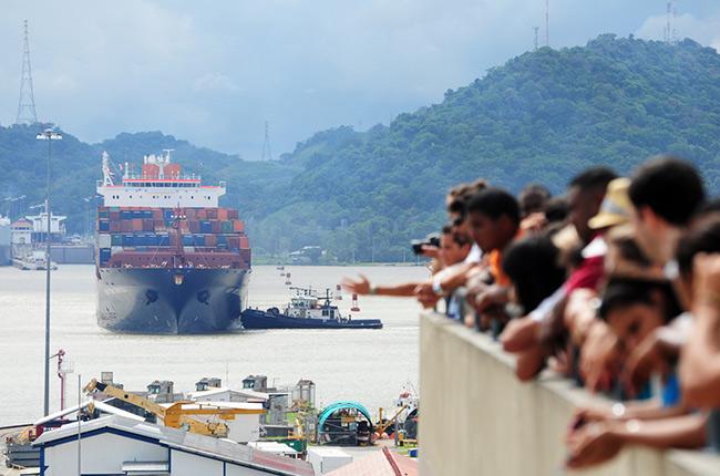El Canal de Panamá. Foto de Marquicio Pagola