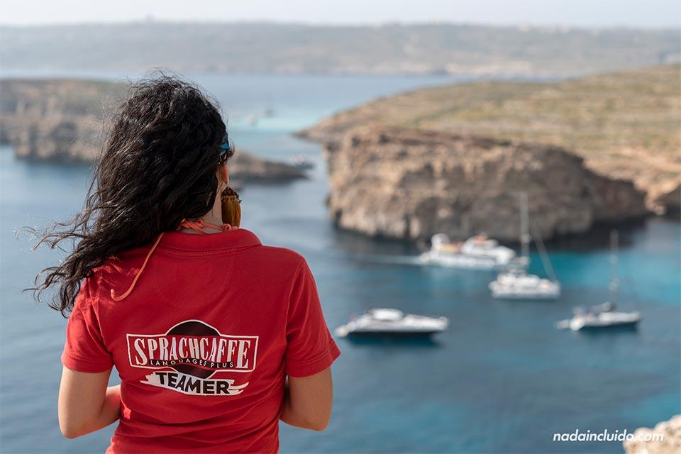 Tour por la isla de Comino con Sprachcaffe (Malta)