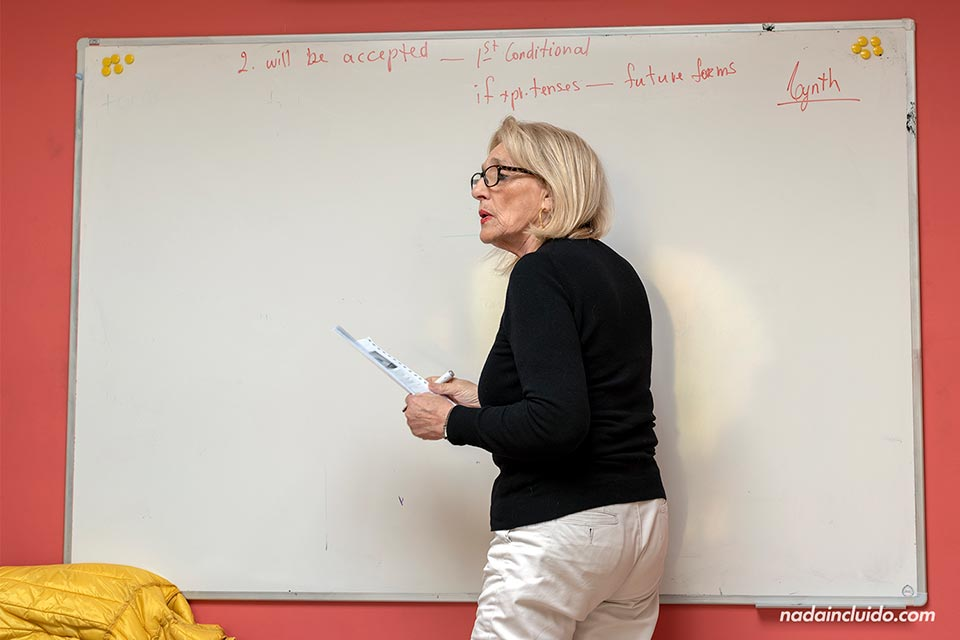 Profesora de inglés en la escuela Sprachcaffe de Malta