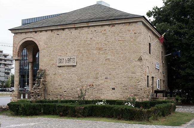 Fachada de la Casa Dosoftei en Iasi (Rumanía)