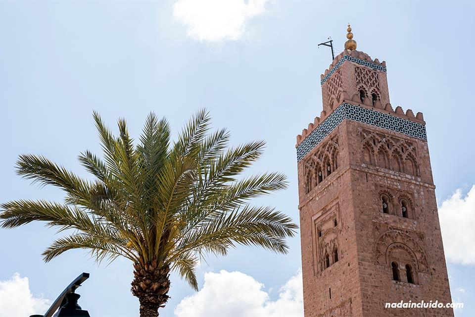 Torre de la mezquita de Koutubia, Marrakech (Marruecos)