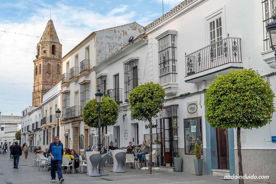 Calle San Juan en Medina Sidonia (Cádiz)