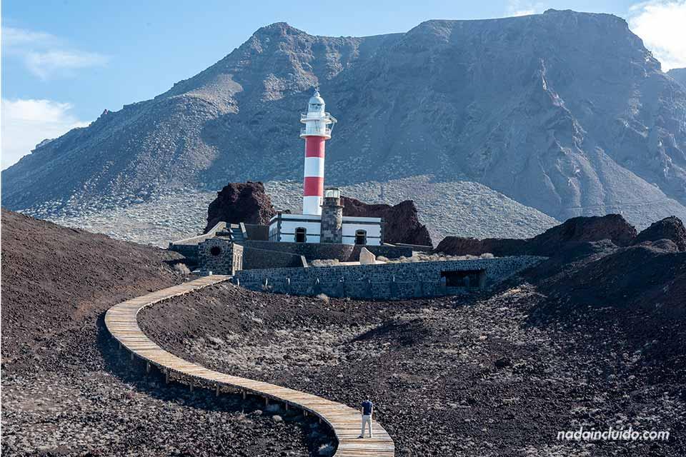 Paseando por el faro de Teno en Tenerife
