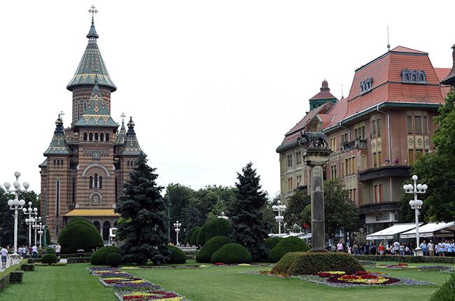 Piata Victoriei, Timisoara (Rumanía)