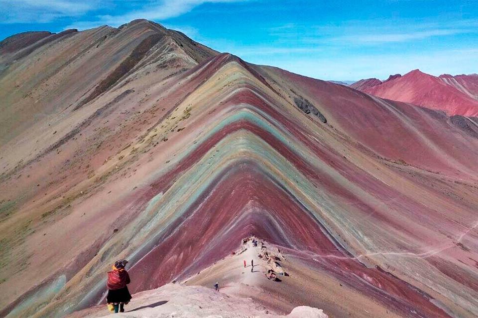 Vinicunca, la montaña de los 7 colores en Perú