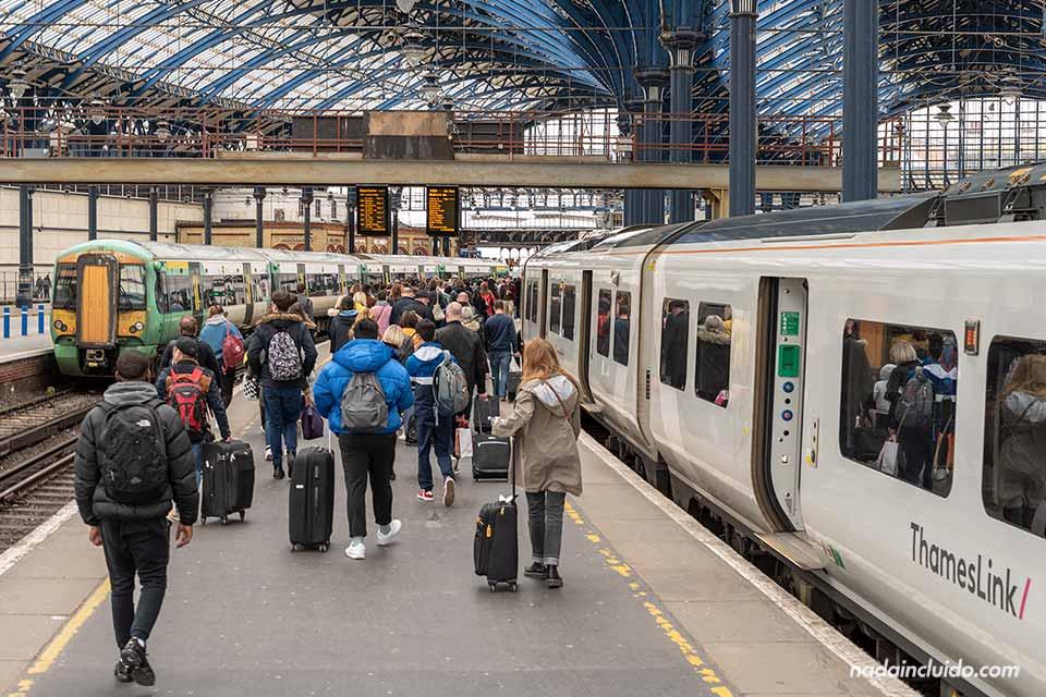 Estación de trenes de Brighton (Inglaterra)