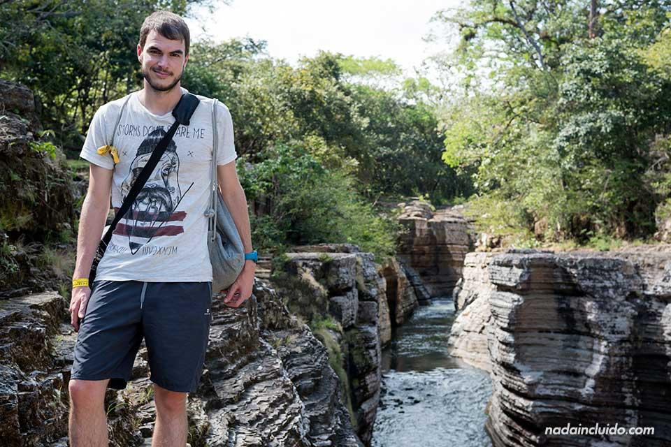 De visita en los Cajones de Chame (Panamá)