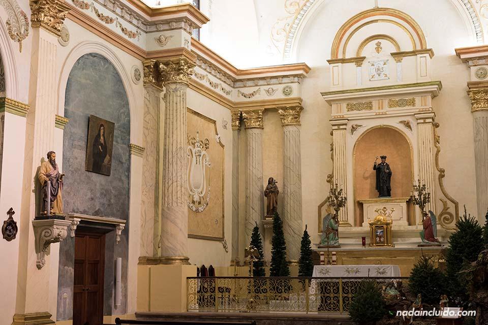 Iglesia de San Felipe Neri en el casco antiguo de la ciudad de Panamá