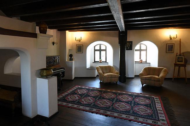 Habitación del Castillo de Bran (Rumanía)