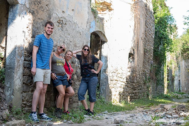 Blogueros de viaje en Jánovas, un pueblo abandonado del Sobrarbe (Aragón)