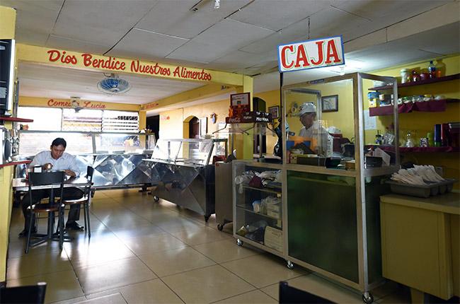 Comedor en León (Nicaragua)