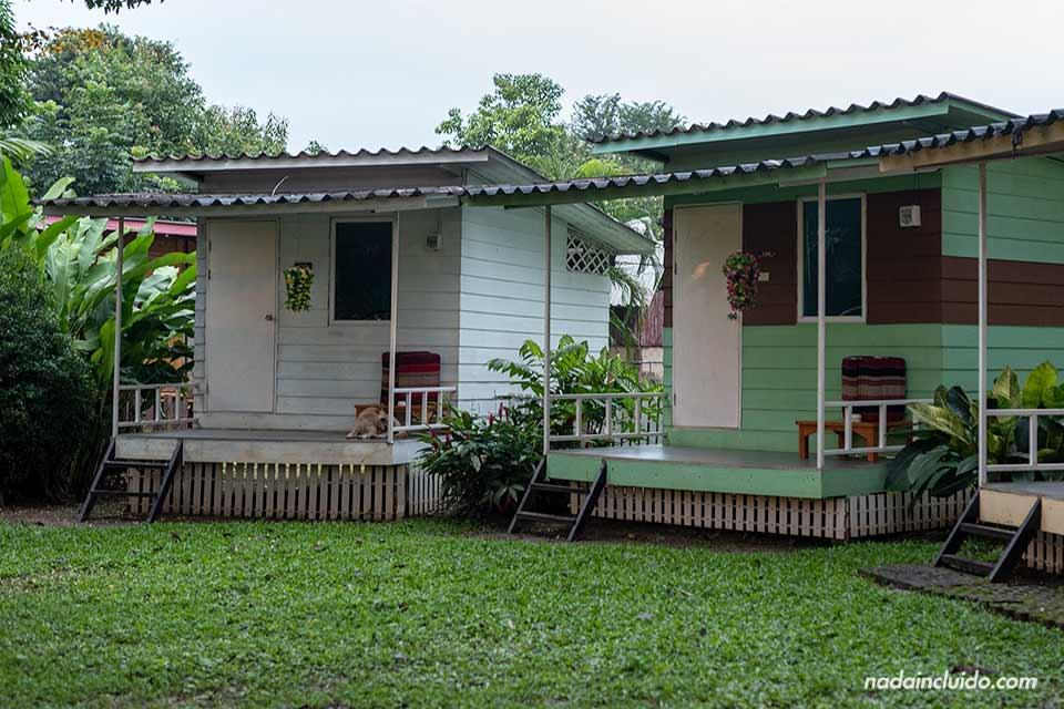 Los bungalows son una de las mejores opciones de alojamiento en Pai (Tailandia)
