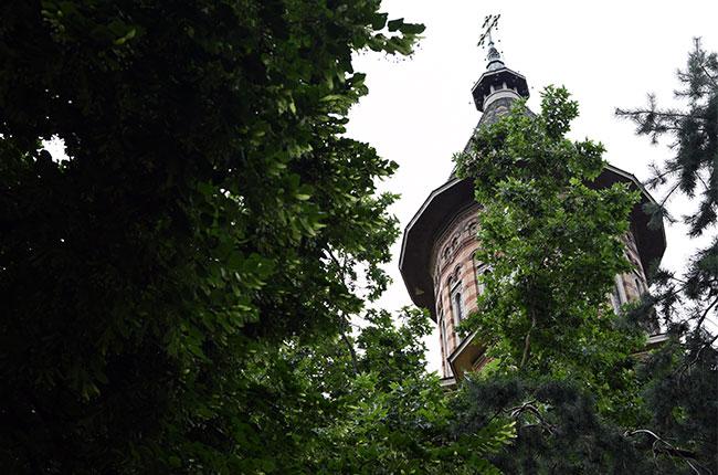 Torre de la Catedral Ortodoxa Metropolitana de Timisoara (Rumanía)