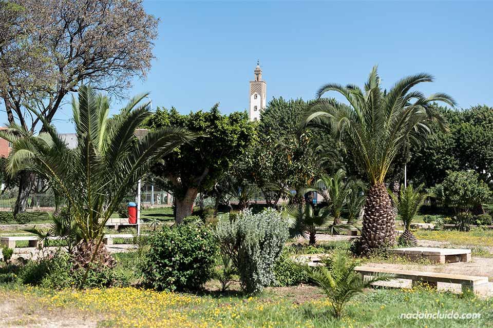 Jardín Ibn Zaidoun en Agadir (Marruecos)