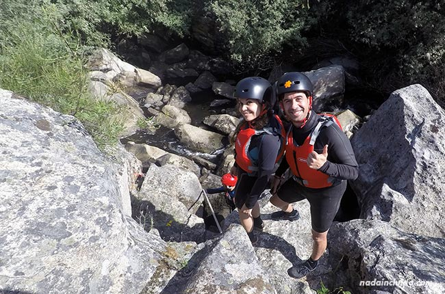 Descenso del río Seda con la empresa Azenhas da Seda (Alentejo, Portugal)