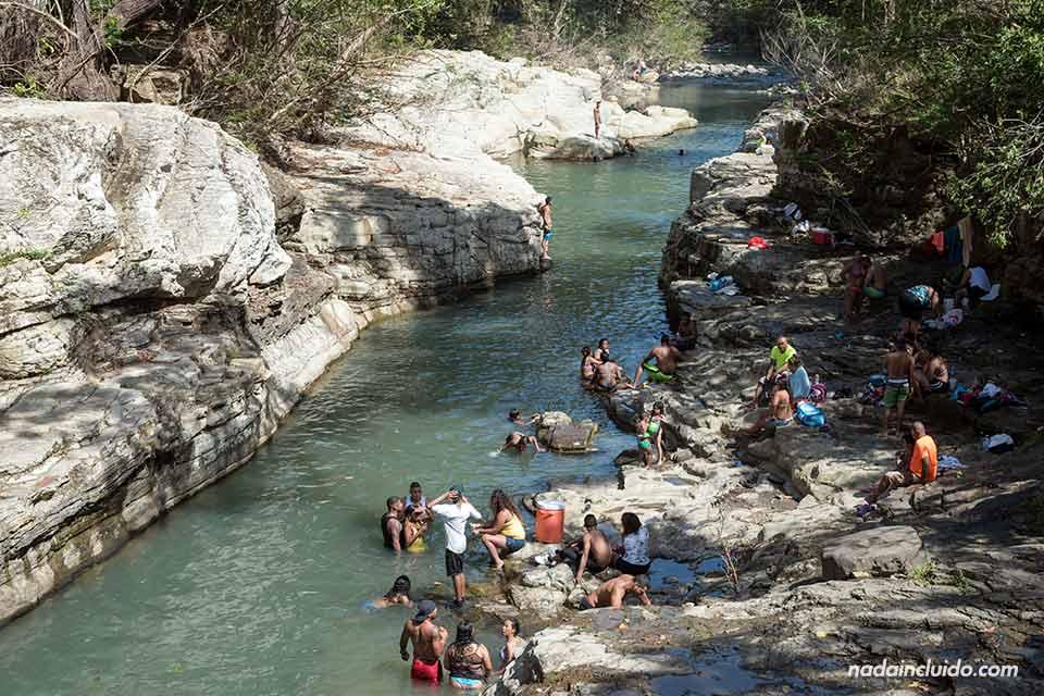 Turismo en los Cajones de Chame, en Panamá