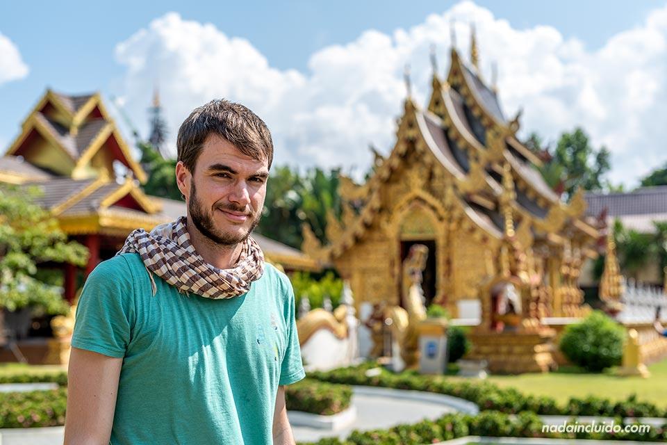 En el Wat Saeng Kaeo Phothiyan de Chiang Rai (Tailandia)