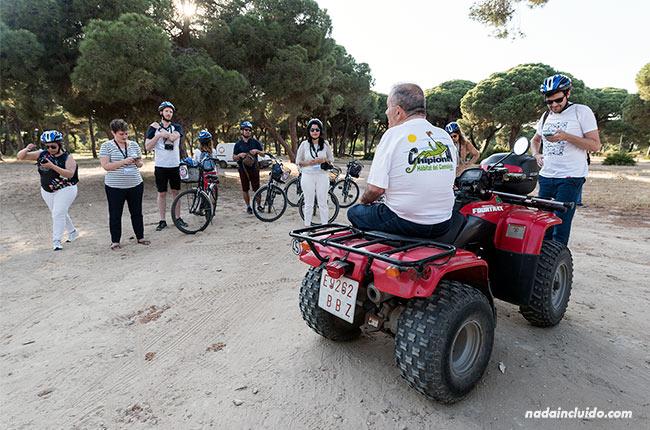 Charla en el Pinar de Chipiona (Cádiz)