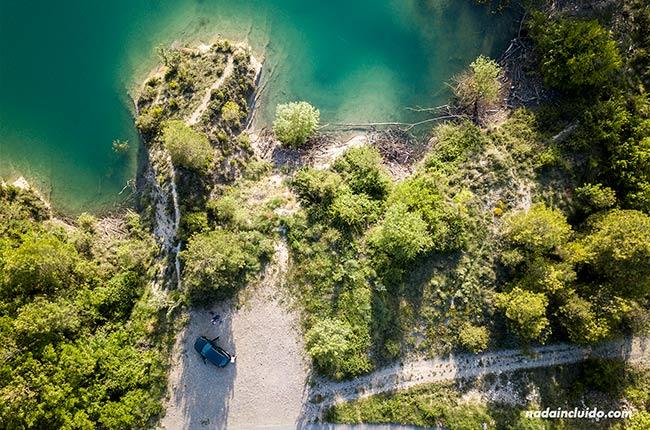 Grabando el Sobrarbe con un dron (Aragón)
